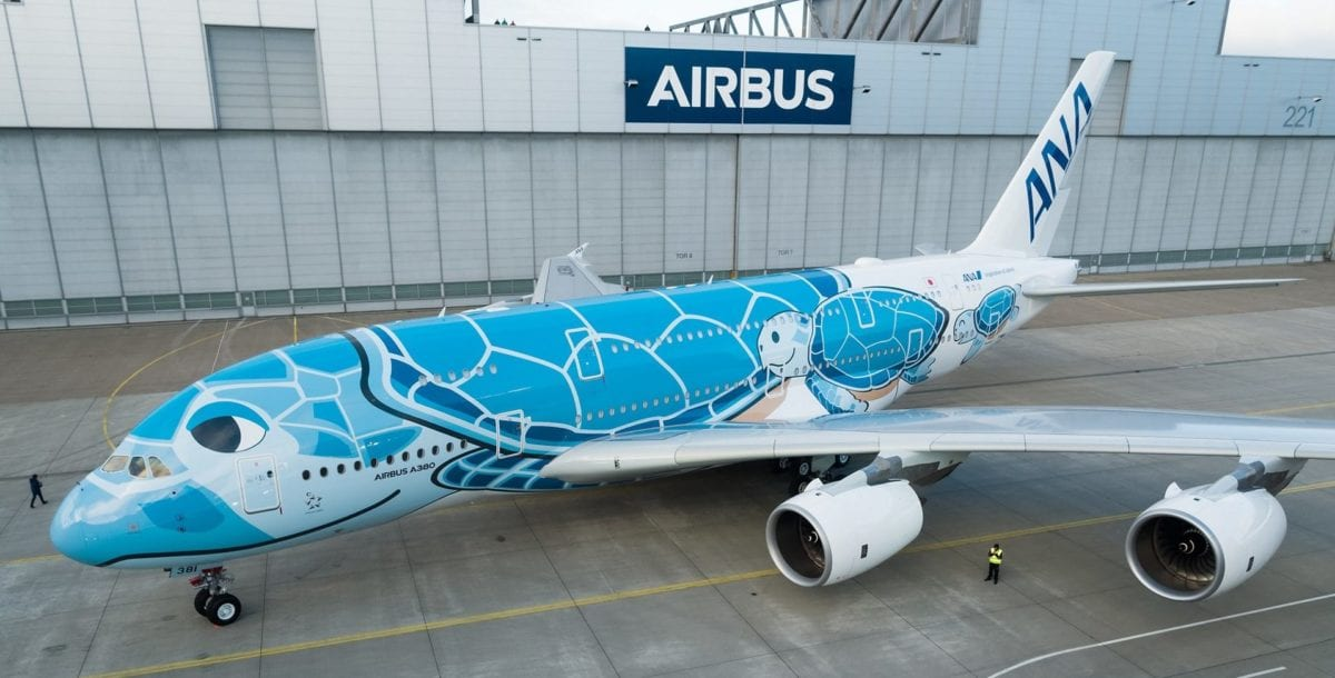Japanese Airline ANA is Getting a Massive Flying Turtle Plane